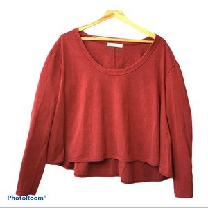 We the Free by Free People Peony Long Sleeve Top M